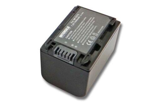 NP-FV40 Batería 1640mAh Para Sony NP-FV30 NP-FV50