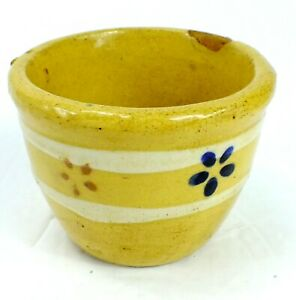 Vintage Ceramic GLAZED POTTERY Hand Crafted SMALL BOWL CUP