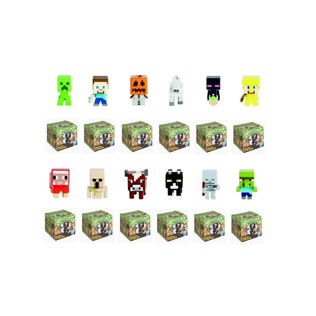 Nuevo conjunto completo de Minecraft hierba serie 1 (12) Mini Figuras De Envío Gratis