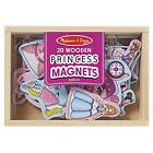 Melissa & Doug 20 Magnetic Wooden Princess Magnets 19278
