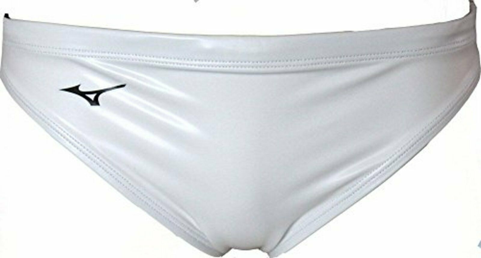 Mizuno Waterpolo Bañador Hombre Calzoncillos N2jq8061 blancoo Talla XL Frontal