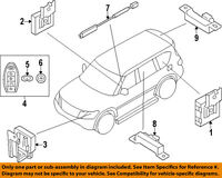 Nissan 285e31ll0b Remote Vehicle System/part