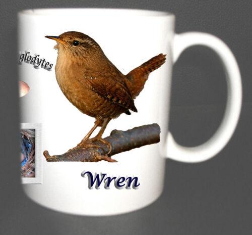 THE WREN GARDEN BIRD MUG LIMITED EDITION XMAS GIFT NEW