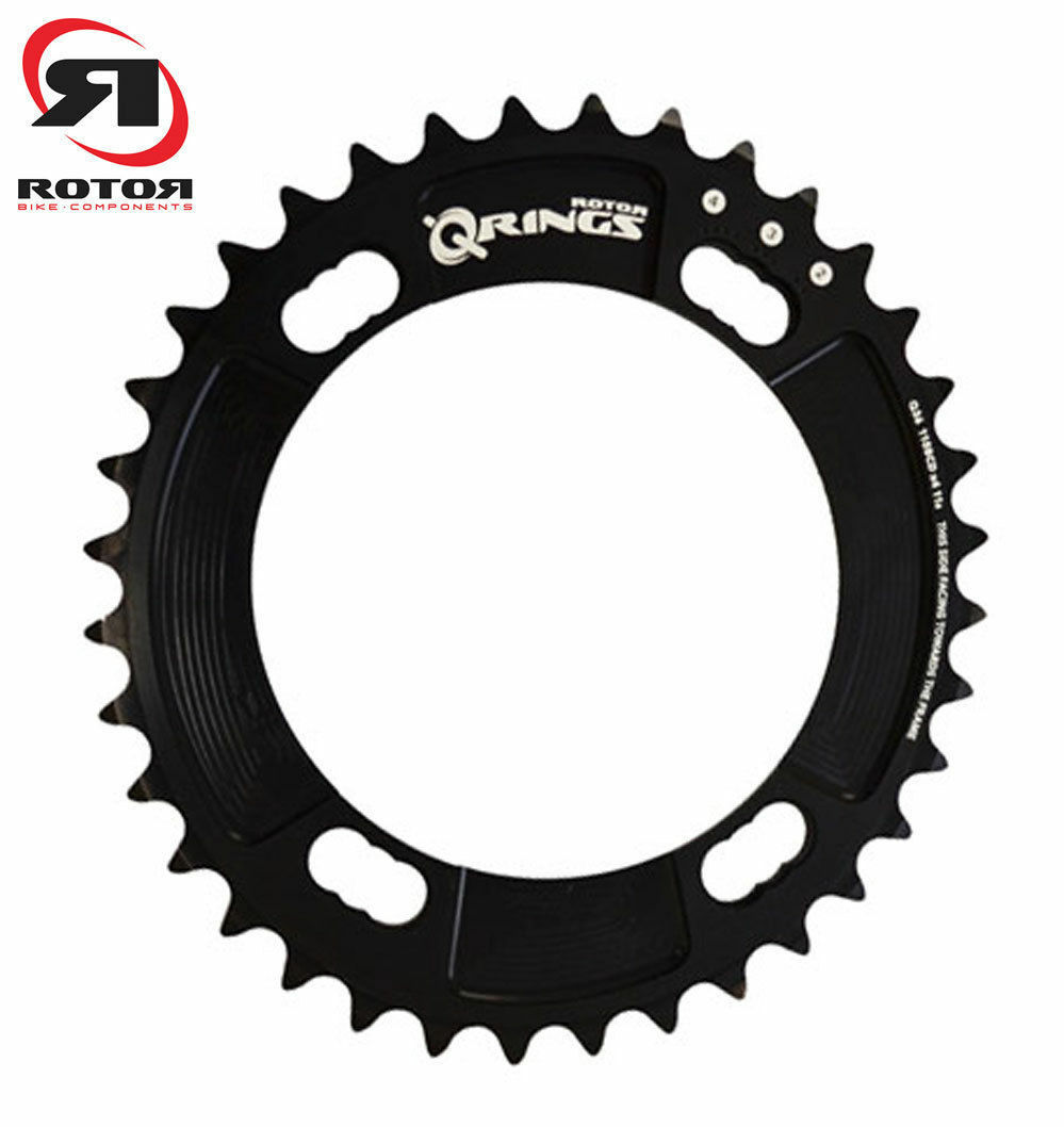 Rotor Crown Race qring Aero BCD 110x4 Internal Oval