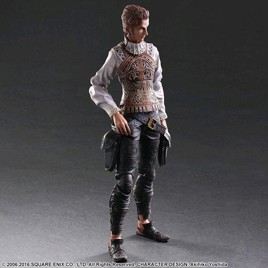 1:6 Scale Figures--Final Fantasy 12 - Balthier Play Arts Action Figure