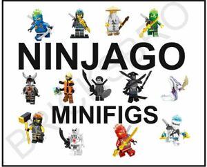 Ninjago Ninja Chopper Maroon Lloyds Kai Custom Lego Mini Figure Samurai Warrior
