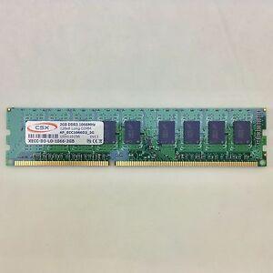 RAM-Riegel-2-GB-DDR3-ECC-Unbuffered-PC3-8500e-1066-MHz-CSX-2-GB