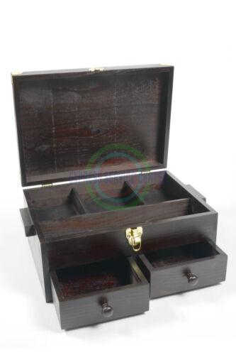Per Legno Color Accessori Wenge' Lucidi Cassetta Valigetta Scarpe Porta porta In 2EWeDIH9Y