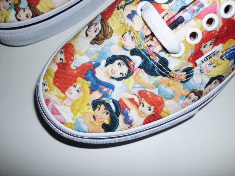 Vans Authentic Disney Multi Princess Prinzessinnen Arielle Jasmin Gr. 38,5 neu