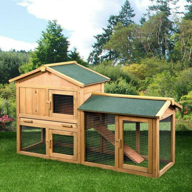 Trixie Extra Large Rabbit Hutch With Attic For Sale Online Ebay