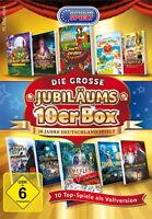Die grosse Jubiläums 10er Box: 10 Jahre Deutschland Spielt - PC Game - *NEU*