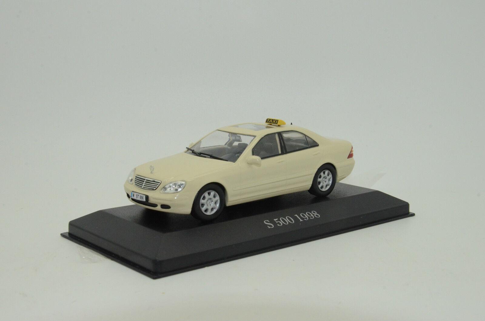 hermoso Mercedes S-Klasse W220 Taxi Berlín, Berlín, Berlín, Alemania Hecho a Medida 1 43  buscando agente de ventas