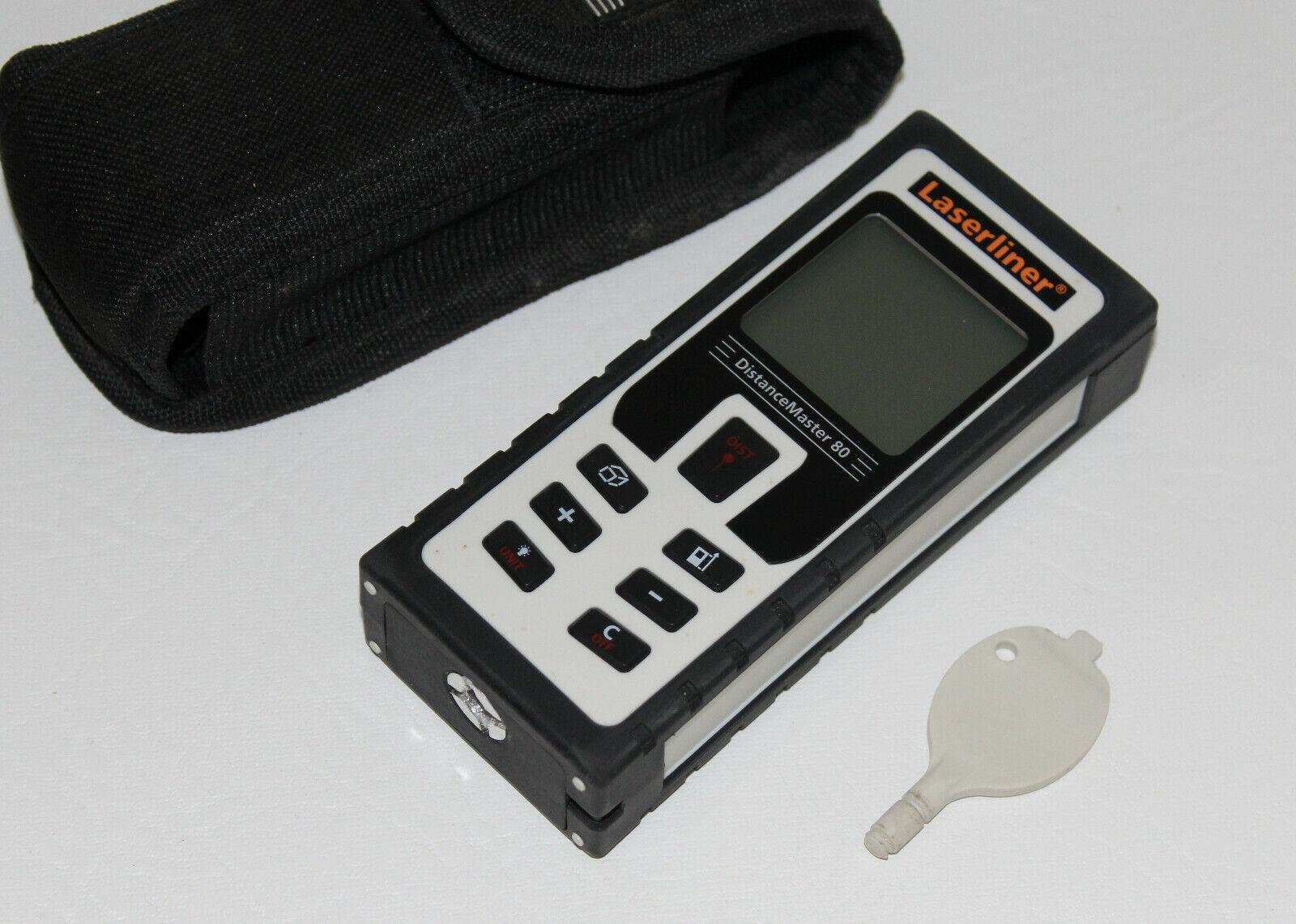 Laserliner DistanceMaster 80   Entfernungsmesser   Lasermessgerät Gebraucht
