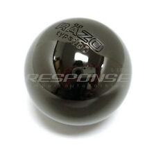 Razo RA112 Shift Knob Black Chrome Aluminum Type 100 Weighted Round / Ball JDM