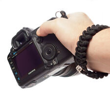 #Piranha - Paracord Camera Wrist Strap Lanyard Handmade - Canon/Nikon/Fuji/Leica