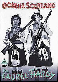 Laurel And Hardy - Bonnie Scotland (DVD, 2010)