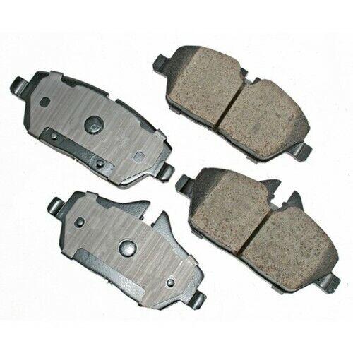 Disc Brake Pad Set-Base Front Akebono EUR1308 Fits 2009
