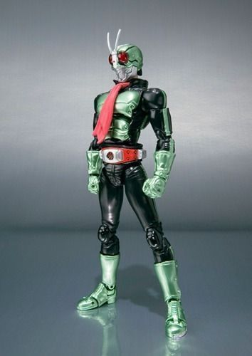 S.H.Figuarts Masked Kamen Rider The First Rider 2 Action Figure BANDAI Japan