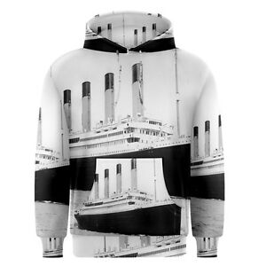 New-Titanic-Sublimation-Men-039-s-Pullover-Hoodie-Size-S-3XL-Free-Shipping