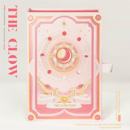 Card Captor Sakura Clow Card Pink Magic Book 50Pcs Collection Cards Gift Box