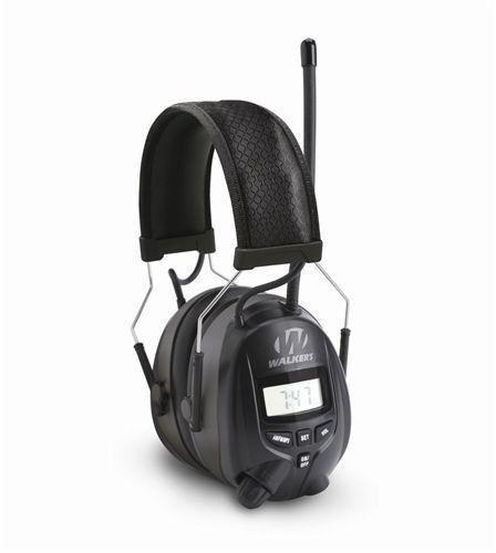 New Walkers WGE-GWP-RDOM Passive Digital AM FM Radio Muff