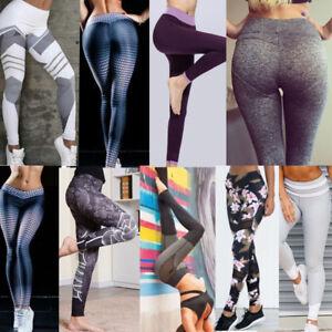 Yoga Sport Leggings Collant Aptitude Femmes Jambière Pantalon Gym qtAw8 fdd6321de62