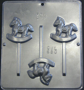 rocking horse lollipop chocolate candy mold baby shower 650 new ebay