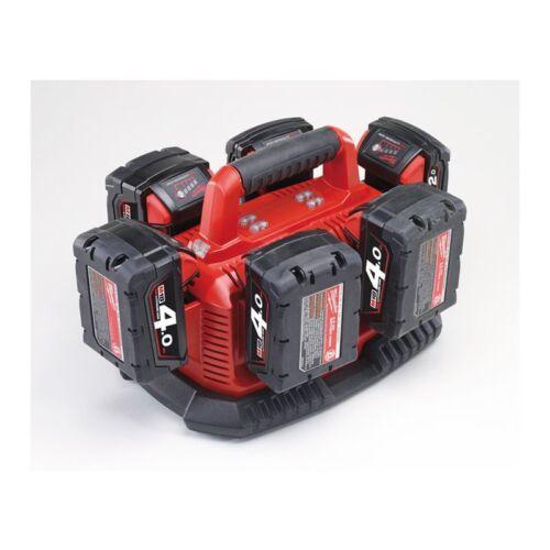 Milwaukee 14//18 V Multi-Ladegerät M1418 C6 für 14 und 18 Volt Akku