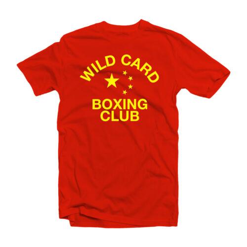 New Wild Card Boxing Club T-shirt Freddie Roach China Shirt Zou Shiming