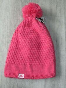 Adidas Youth Girls Climawarm Twilight Winter Beanie Hat Pink