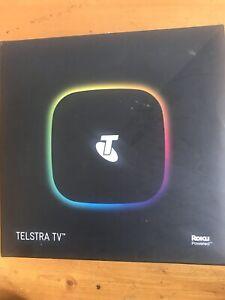 Telstra TV 4200TL Powered by Roku - Brand new