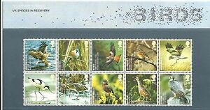 GB-Presentation-Pack-401-2007-UK-Species-in-Recovery-Birds