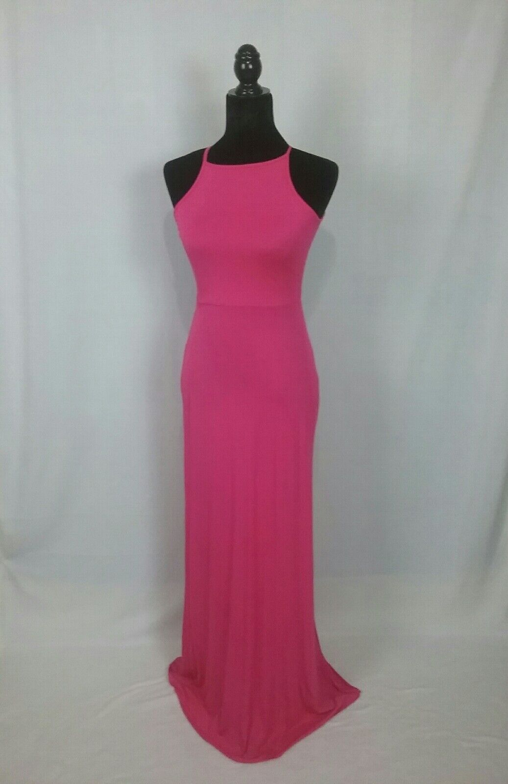 Clayton Fuchsia Long Dress NWT Large