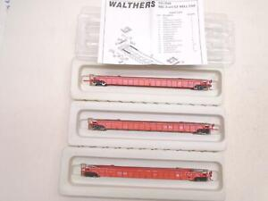 Walthers Ho NSC 53' 3 Unit Well Car set Canadian Pacific, x13