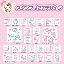 8pcs Stamp Set Hello Kitty in a Cute Case Sanrio Japan Japanese Kawaii Tracking#