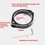 Black-CNC-aluminum-50mm-headlight-bracket-cafe-racer-bobber-streetfighter-custom thumbnail 3