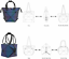 Geometric-Lattice-Luminous-Shoulder-Bag-Holographic-Reflective-Cross-Body-Bag thumbnail 42