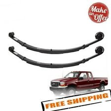 "Pro Comp 22410 Front 4"" Lifted Leaf Springs 99-04 Ford F250/F350 Pair w/Bushings"
