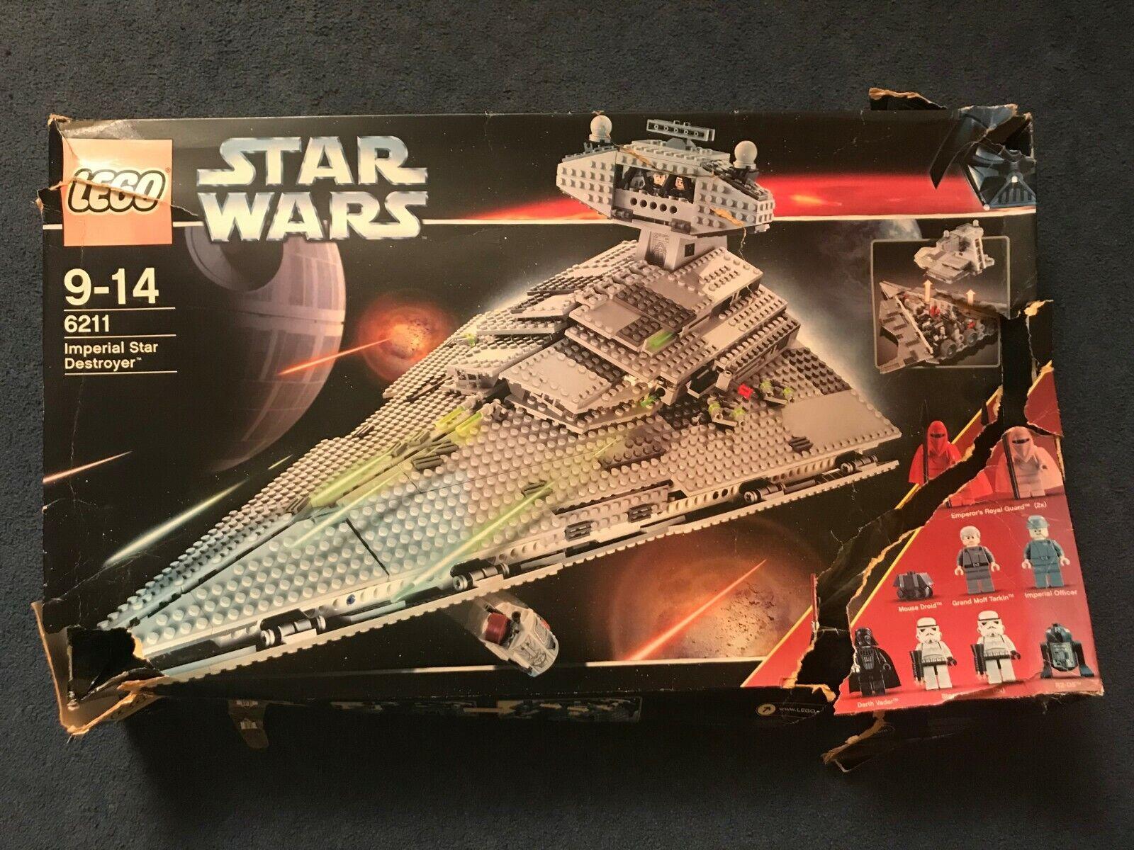 LEGO Star Wars 6211 Imperial Star Destroyer - New Damaged Box (SEE DESCRIPTION)
