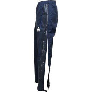 puma team rain mens track pants silky shiny wet look new blue