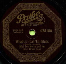 MISS LEE MORSE (What-Cha-Call-Em-Blues / This Time) R&B/SOUL 78  RPM  RECORD