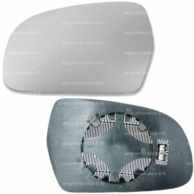 For Audi A3 wing mirror glass 10-12 Left Passenger side Aspherical Blind Spot