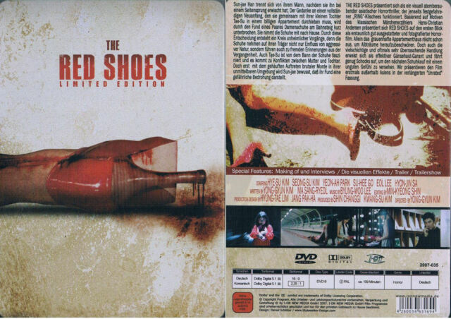 THE RED SHOES --- Limited Edition --- Steelbook --- Uncut --- FSK 18 ---