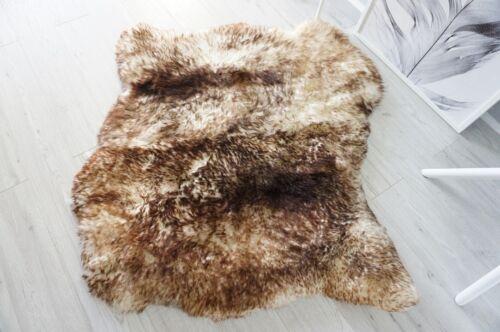 Con de de cara original punta oveja Sbn Alfombra de Blanco suave piel doble 31 Lana Marrón dY7wqq4S