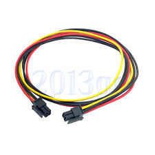 ATX Micro Fit Connector 4Pin Male to Male Motherboard Power Line Cable 60cm YG