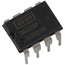 INA128PA Burr Brown Precision Low Power Instrumentation Amplifier DIP-8 856106