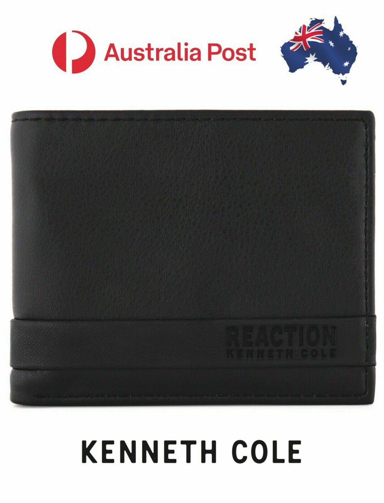 Men's Kenneth Cole Reaction Chelsea Bifold Passcase Wallet - RFID Protection