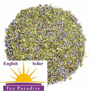 LAVENDER SLEEP WELL, with MINT & LEMON BALM, ENHANCE SLEEP, SEDATIVE HERBAL TEA