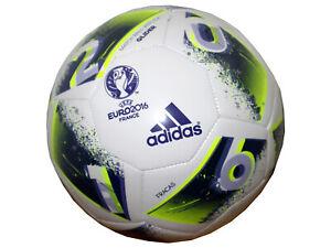 adidas-Fussball-Euro-16-Glider-Gr-5-weiss-Trainingsball-EM-2016-Fussball-Ball