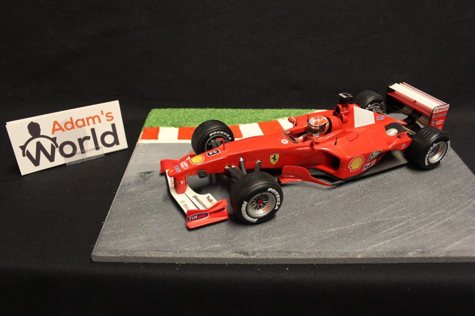 Hot Wheels Ferrari F-2000 2000 1 18 Michael Schumacher (GER) (F1NB)